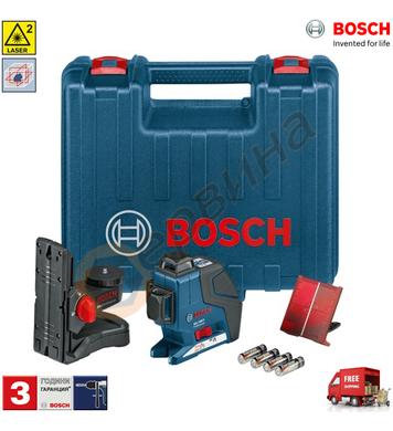 Лазерен нивелир Bosch GLL 3-80 P Professional 0601063302