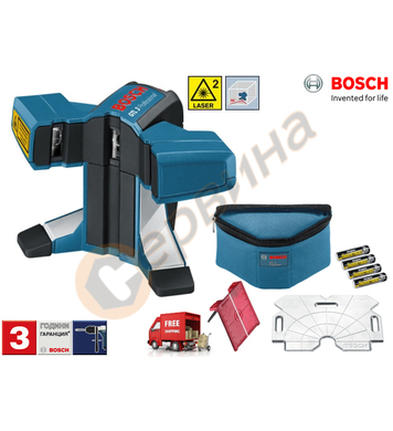 Лазерен нивелир за плочки Bosch GTL 3 Professional 060101520