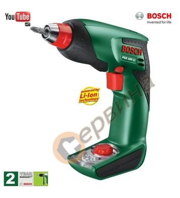 Акумулаторен винтоверт Bosch PSR 300 LI 0603969U20 - 10.8V/1