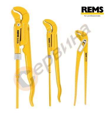 Комплект професионални водопроводни ключове Rems 116X01 - 3б