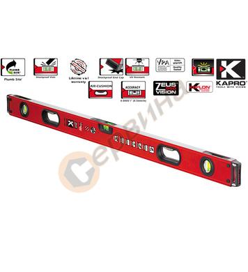 Алуминиев нивелир Kapro ZEUS 990-41P 120 - 1200мм