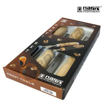 Комплект дърводелски длета Narex 8630 10 - 4бр