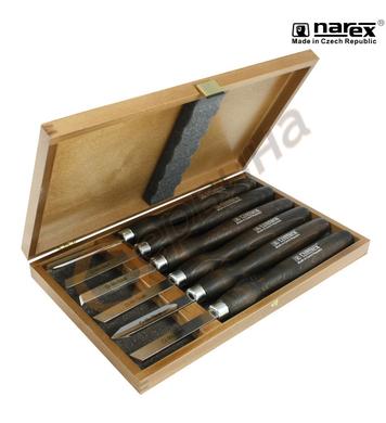 Комплект дърводелски длета Narex 8595 03 - 6бр
