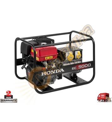 Бензинов генератор Honda EC5000K1 - 5.0KW