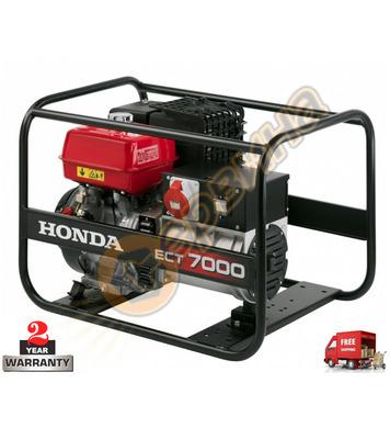 Бензинов генератор трифазен Honda ECT7000K1 - 7.0KW
