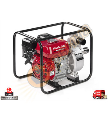 Водна-самозасмукваща помпа бензинова Honda WB20XT2 - 2.9kW/4