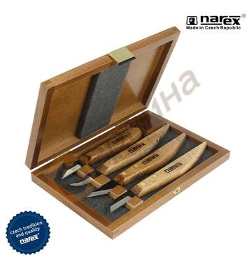 Ножове за дърворезба Narex 8691 00 - 4бр