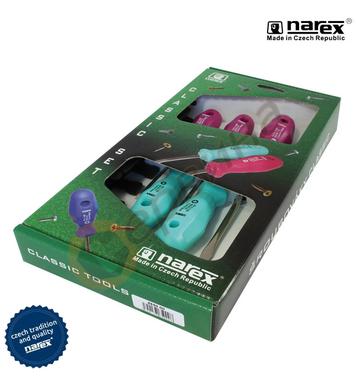 Комплект отвертки Narex 8650 00 - 5бр.