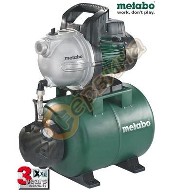 Хидрофор Metabo HWW 4000/25 G 600971000 - 1100W 8метра 4000л