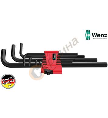 Вътрешни шестограми Wera 950 L 9 BM N 021735 - 9бр.
