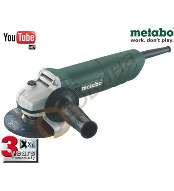 Ъглошлайф Metabo W 720 606725000 - 720W