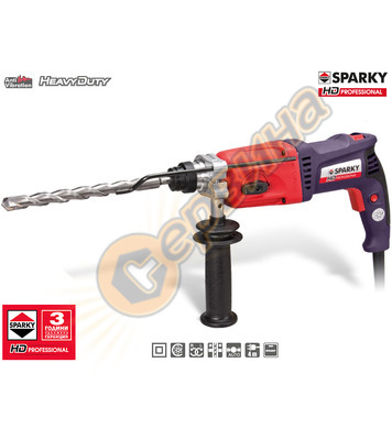 Комбиниран перфоратор Sparky BPR 280CE HD 12010041463 - 1010