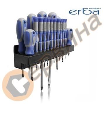 Комплект отвертки 18бр. ERBA - ER01021