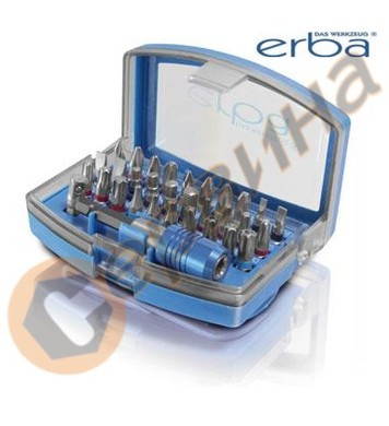Комплект накрайници S2-Stahl ERBA ER03123 - 32бр
