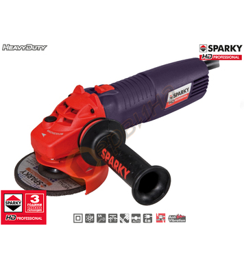 Ъглошлайф Sparky M 1200E Plus HD 12000071112 - 1200W