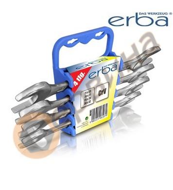 Комплект гаечни ключове CrV 21-32мм ERBA 4бр. ER06107