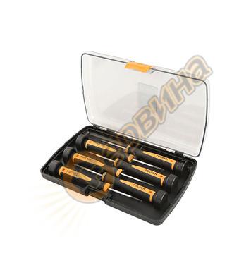Комплект отвертки за електроника CrV ERBA ER03245