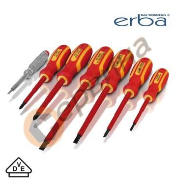 Комплект отвертки VDE 1000V ERBA ER01007 - 7бр.