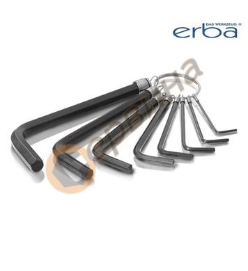 Комплект шестограми 8бр. ERBA ER46005