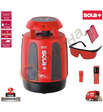 Ротационен лазерен нивелир Sola Orbit 71010501 - 30м