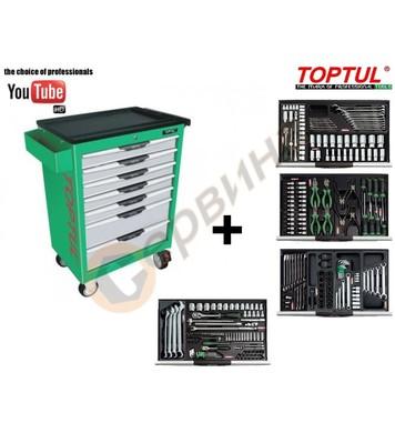 Инструментална количка с инструменти Toptul GCAJ0034 - 265 ч