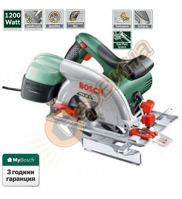 Ръчен циркуляр Bosch PKS 55A 0603501020 - 1200W