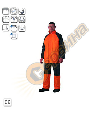 Дъждобран от полиамид Coverguard 0,18мм CW50773 L-XL-XXL-XXX