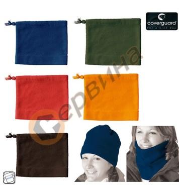 Зимна шапка и шал от полиестер 300gr/m2 Coverguard CW5COVE
