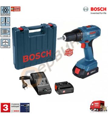 Акумулаторен винтоверт Bosch GSR 1800-LI Professional 06019A