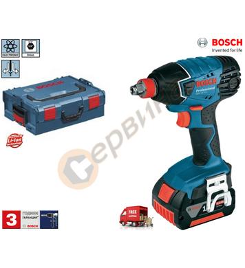 Акумулаторен ударен гайковерт Bosch GDX 18 V-LI Professional