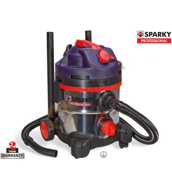 Прахосмукачка за сух и мокър режим Sparky VC1321MS 130002044