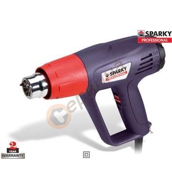 Пистолет за горещ въздух Sparky HAG 1600 13000204700 - 1600W