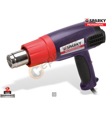 Пистолет за горещ въздух Sparky HAG 2000 13000204915 - 2000W