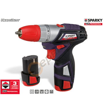 Акумулаторен винтоверт Sparky BR2 7.2Li HD 14000192854 - 7.2