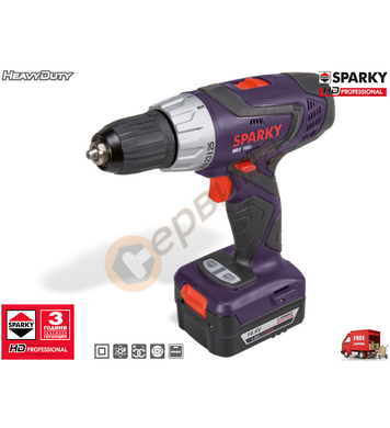 Акумулаторен винтоверт Sparky BR2 15Li HD 14000192059 - 14.4