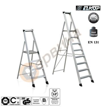 Усилена алуминиева стълба Elkop SHRP 808 - 7+1бр