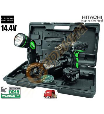 Акумулаторен винтоверт с лампа Hitachi DS14DCL - 14.4V/1.5Ah