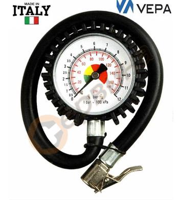 Манометър за гуми Vepa - 0-12bar 6511700012