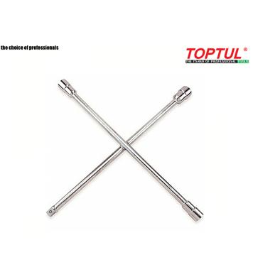 Кръстат ключ за гуми Toptul AEAL2401 - 24мм-27мм-32мм-3/4