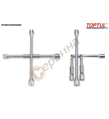 Сгъваем кръстат ключ за гуми Toptul AEAQ2214 - 17мм-19мм-21м