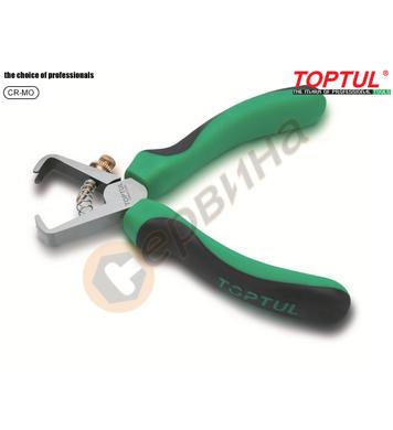 Професионални клещи за оголване на кабел Toptul DIBA2206 - 1
