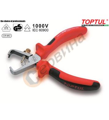 Професионални клещи за оголване на кабел Toptul DGBD2106 VDE