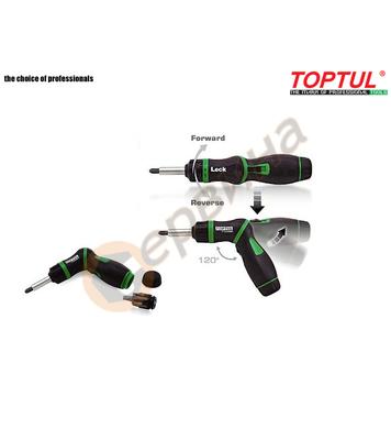 Тресчота отвертка Toptul GAAR0901 - 8 части