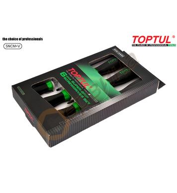 Комплект професионални отвертки Toptul GAAE0604 - 6бр