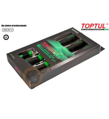 Комплект професионални отвертки Toptul GAAE0610 - 6бр