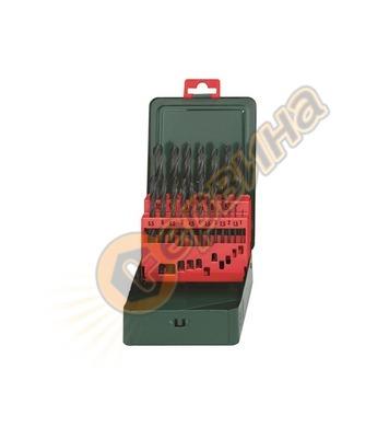 Комплект свредла за метал HSS-R Metabo 627151000 - 19бр