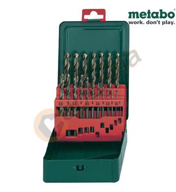 Комплект кобалтови свредла за метал HSS-Co Metabo 627157000