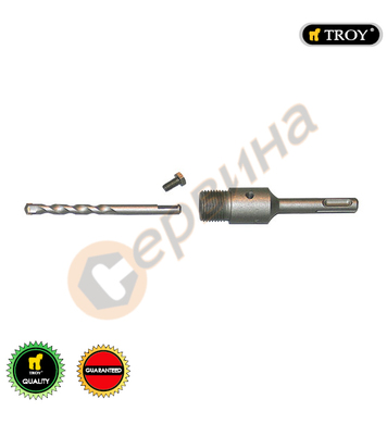 Държач на боркорона Troy T27457 - SDS Plus М22х110мм