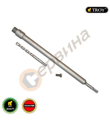 Държач на боркорона Troy T27458 - SDS Plus М22х400мм