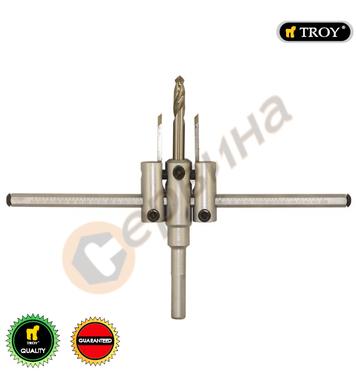 Комплект високоскоростни резци за отвори TROY T27402 - 40-20